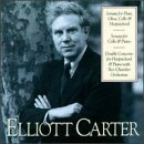 E. Carter Concerto Hpd Piano Sonata Cell Comtemporary Chbr Players