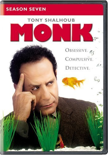 Monk Season 7 DVD