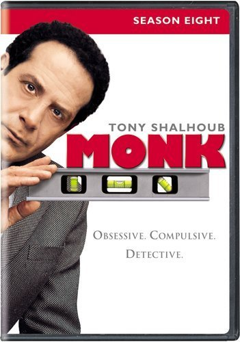 Monk Season 8 Aws Nr 4 DVD