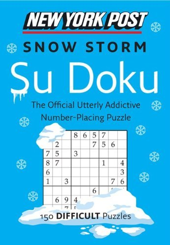 Harpercollins Publishers Ltd New York Post Snow Storm Su Doku 150 Difficult Puzzles