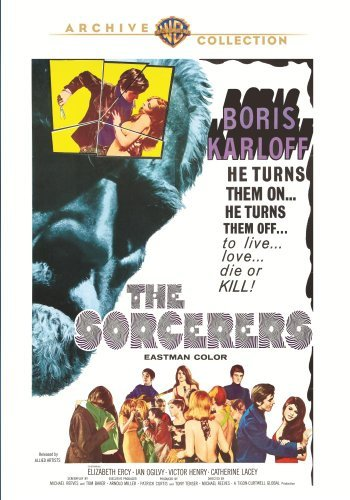 The Sorcerers Karloff Ercy Ogilvy DVD Mod This Item Is Made On Demand Could Take 2 3 Weeks For Delivery
