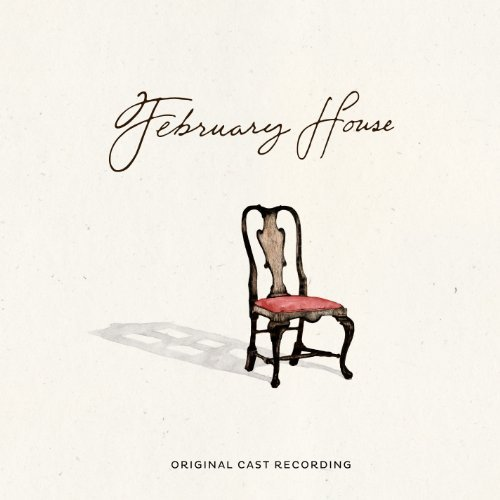 Cast Recording February House Incl. 56 Page Booklet