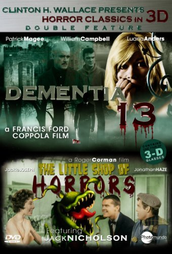 Dementia 13 Little Shop Of Hor 3d Collection 3d Nr