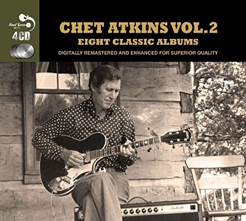 Chet Atkins Vol. 2 Eight Classic Albums Import Gbr 4 CD