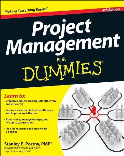 Stanley E. Portny Project Management For Dummies 0004 Edition;revised