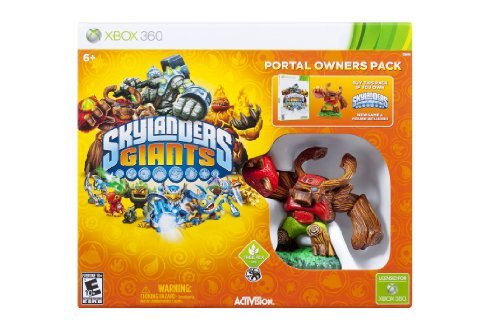 Xbox 360 Skylanders Giants Portal Owners Pack Does Not Contain Portal
