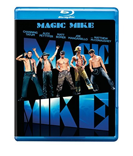 Magic Mike Tatum Pettyfer Mcconaughey Blu Ray Ws R