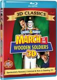 March Of The Wooden Soldiers 3 Laurel & Hardy Blu Ray 3d Nr