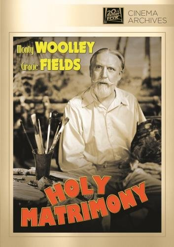 Holy Matrimony Woolley Fields Cregar DVD Mod This Item Is Made On Demand Could Take 2 3 Weeks For Delivery