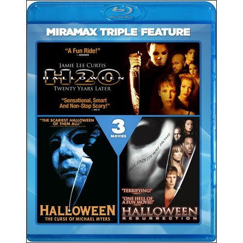 Halloween Triple Feature Halloween Triple Feature Blu Ray Ws R