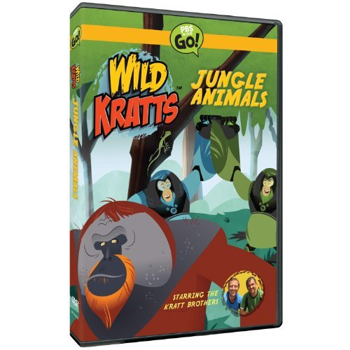 Jungle Animals Wild Kratts Nr