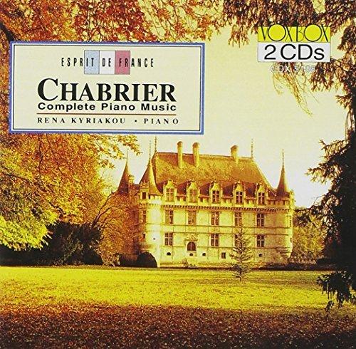 E. Chabrier/Complete Piano Music@Kiriakou (Pno)