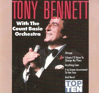 Tony Bennett With The Count Basie Orchestra