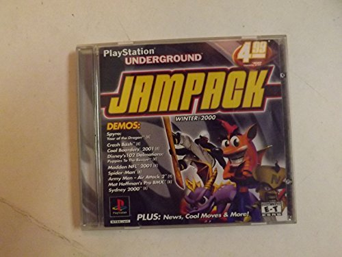 Psx Jam Pack Winter 2000 E T