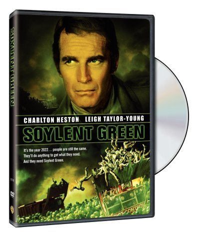 Soylent Green Heston Robinson Taylor Young DVD Pg