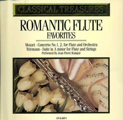 Classical Treasures Romantic Flute Favorites
