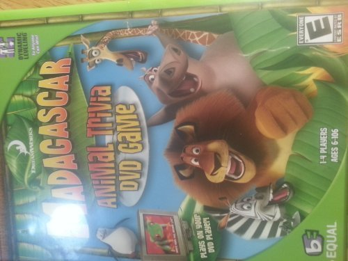 Madagascar Animal Trivia DVD Game Madagascar Animal Trivia DVD Game