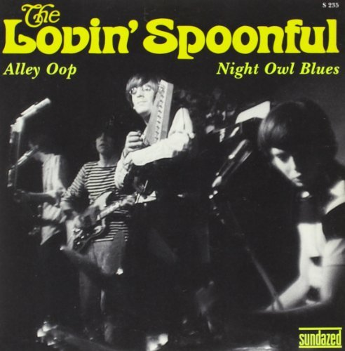 Lovin' Spoonful Alley Oop Night Owl Blues 7 Inch Single