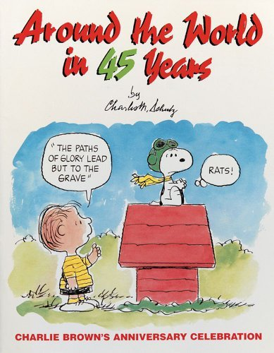 Charles M. Schulz Around The World In 45 Years Original
