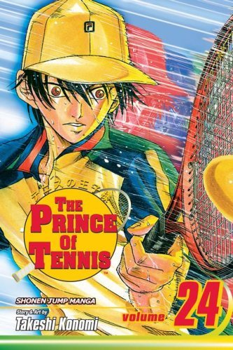 Takeshi Konomi The Prince Of Tennis Vol. 24