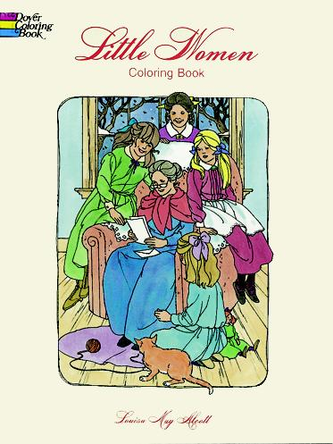 Alcott Louisa May Steadman Barbara Little Women Coloring Book