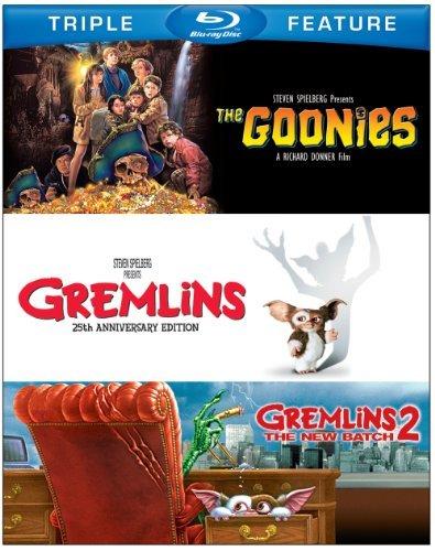 Goonies/Gremlins/Gremlins 2: T/Goonies/Gremlins/Gremlins 2: T@Blu-Ray/Ws@Nr/3 Br