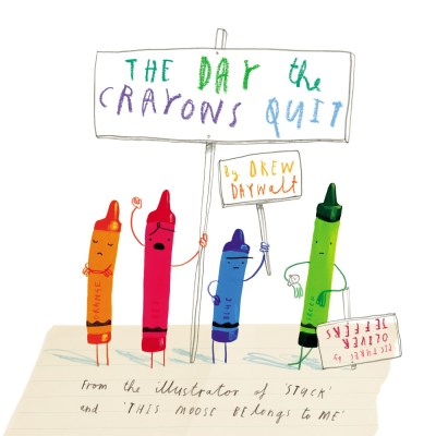 Drew Daywalt The Day The Crayons Quit