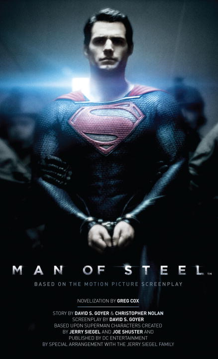 Greg Cox Man Of Steel The Official Movie Novelization
