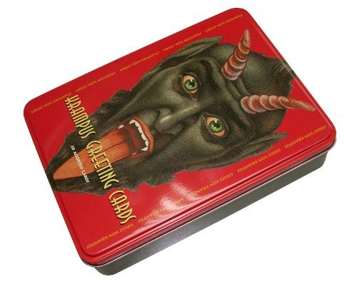 Monte Beauchamp Krampus Greeting Cards Gruss Vom Krampus!