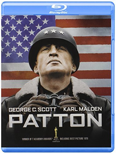 Patton Scott Malden Bates Blu Ray DVD Pg