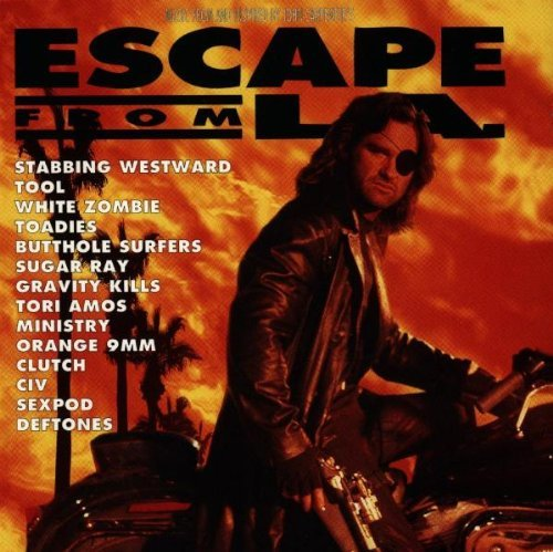 Escape From L.A. Soundtrack White Zombie Ministry Toadies Biohazard Deftones Nixons Tool