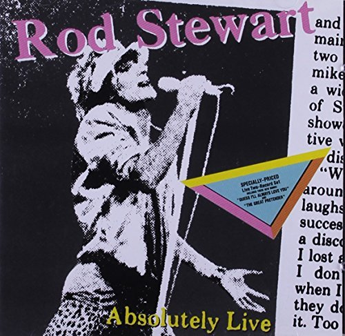 Rod Stewart Absolutely Live CD R