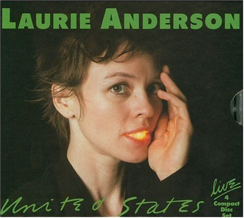 Laurie Anderson United States Live 4 CD Set