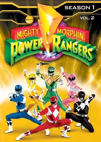 Mighty Morphin Power Rangers Season 1 Volume 2 DVD Tvy7 3 DVD