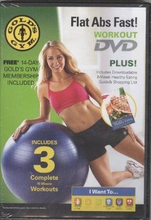Gold's Gym Flat Abs Fast!