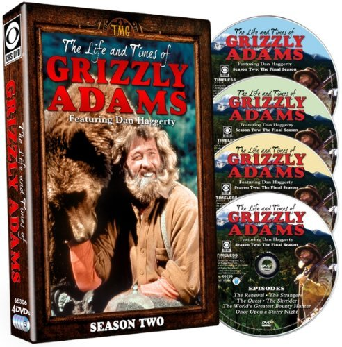 Life & Times Of Grizzly Adams Season 2 DVD Nr