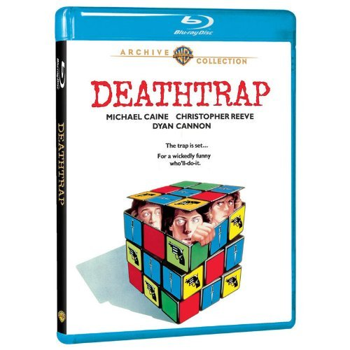 Deathtrap (1982) Caine Reeve Cannon Blu Ray Mod This Item Is Made On Demand Could Take 2 3 Weeks For Delivery