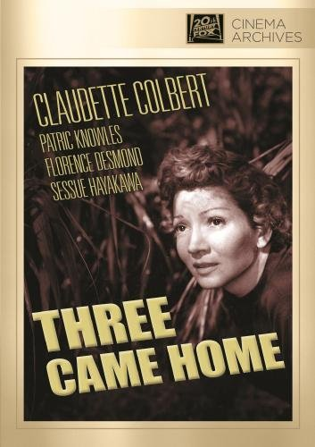 Three Came Home Colbert Claudette DVD Mod This Item Is Made On Demand Could Take 2 3 Weeks For Delivery