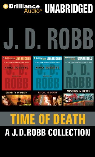 J. D. Robb Time Of Death A.J.D. Robb CD Collection Eternity In Death Rit