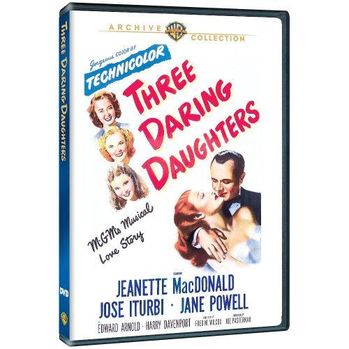 Three Daring Daughters (1948) Macdonald Iturbi Powell DVD Mod This Item Is Made On Demand Could Take 2 3 Weeks For Delivery
