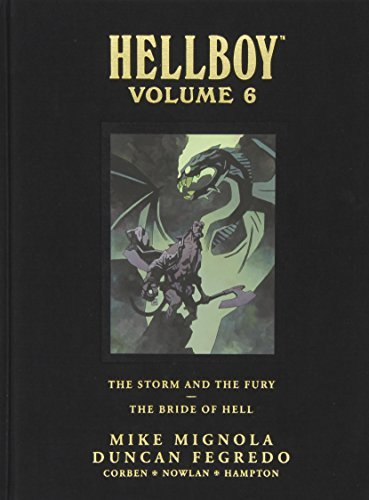 Mignola Mike Hellboy Storm And The Fury The Bride Of Hell The