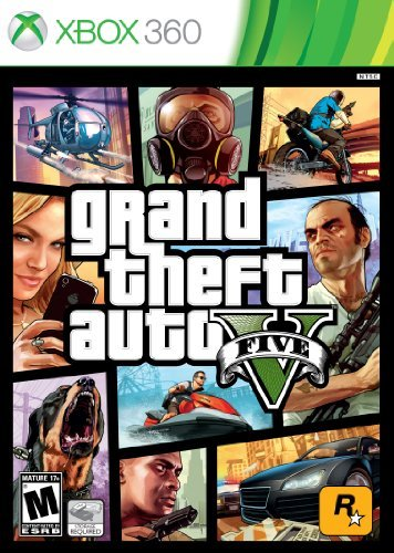 Xbox 360 Grand Theft Auto V Take 2 Interactive M