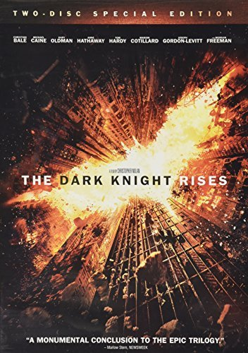 Dark Knight Rises Bale Hathaway Hardy Two Disc Special Edition