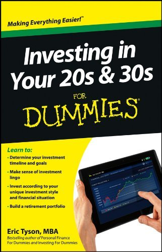Eric Tyson Investing In Your 20s & 30s For Dummies
