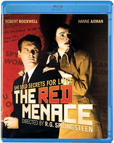 Red Menace (1949) Rockwell Axmann Gerson Blu Ray Bw Ws Nr