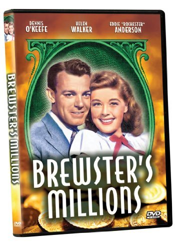 Brewster's Millions (1945) O'keefe Walker Anderson Bw Nr