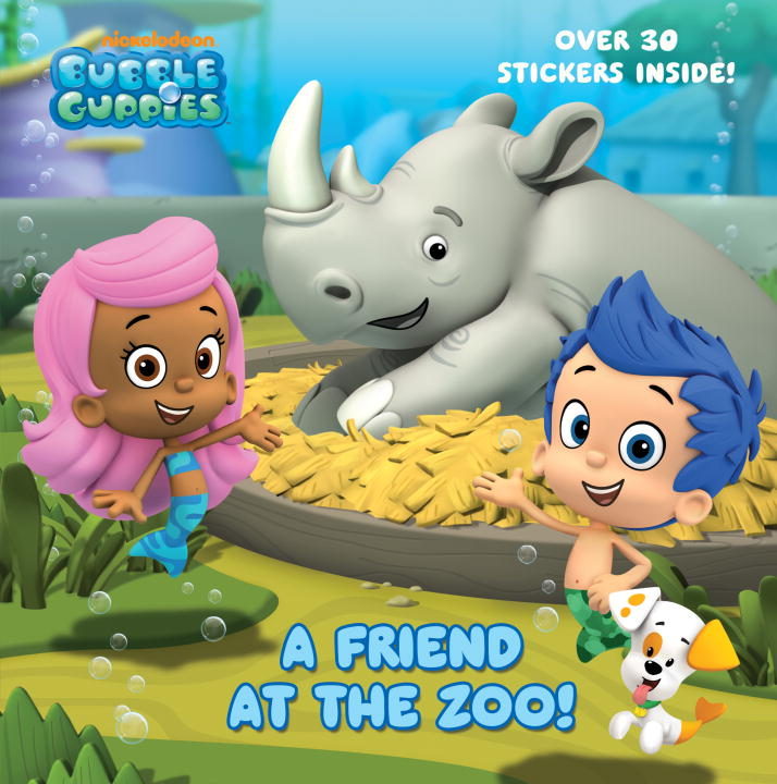Random House A Friend At The Zoo (bubble Guppies)