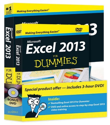 Greg Harvey Microsoft Excel 2013 For Dummies [with Dvd]