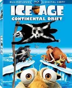 Ice Age Continental Drift Ice Age Continental Drift Blu Ray DVD Dc