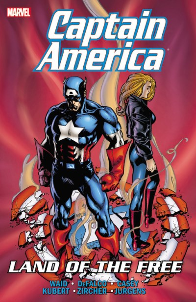 Mark Waid Captain America Land Of The Free